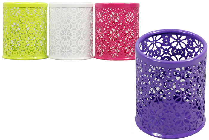Mesh Round Pen Cup