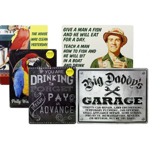 Metal Sign - Assorted Designs